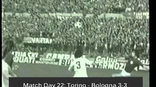 Italian Serie A Top Scorers: 1974-1975 Paolo Pulici (Torino) 18 goals