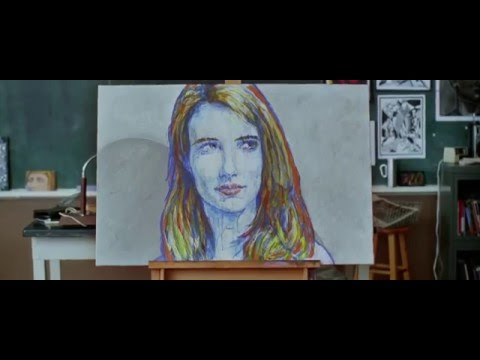 Emma Robert's Painting | The Art Of Getting By [ 720p | HD ]