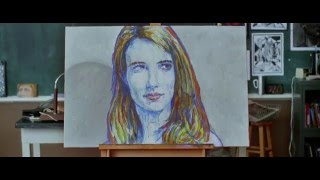 Emma Robert's Painting | The Art Of Getting By [ 720p | HD ] Thumb