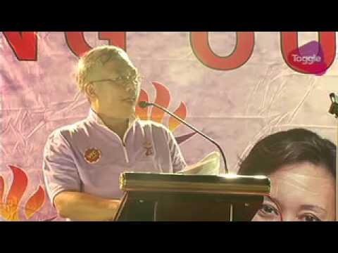 GE2015: Goh Meng Seng speaks at PPP rally in Choa Chu Kang, Sep 7
