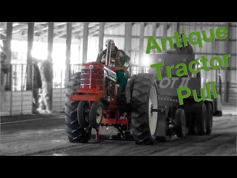 First Antique Tractor Pull of 2017