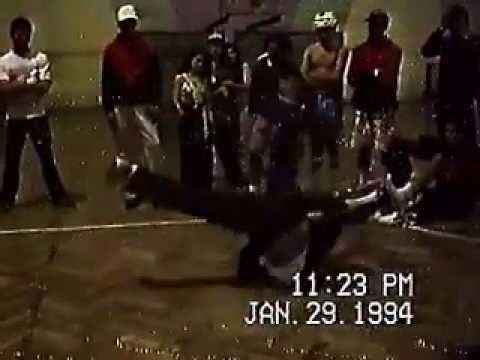 CAMPEONATO DE BREAKDANCE, SANTIAGO, CHILE 1994.