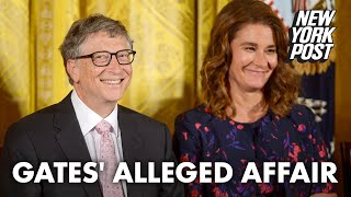 Bill Gates had lengthy affair with Microsoft employee who wanted his wife to know | New York Post