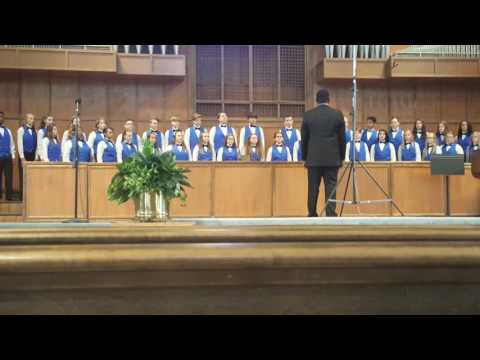 Clover Middle School Summit Chorus- SC State Middle School Competition 2017