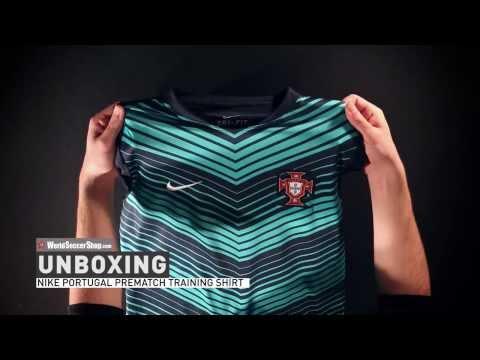 Nike Portugal 2014 Prematch Training Shirt - Unboxing