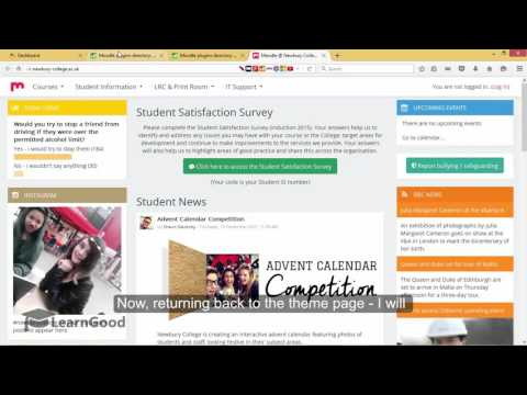Moodle Administration Tutorial