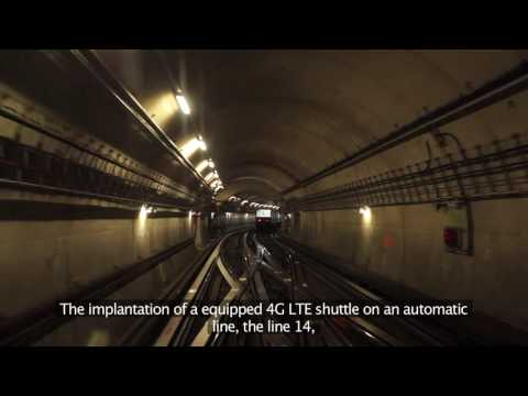 Paris metro LTE trial: Video of the the SYSTUF project and its results
