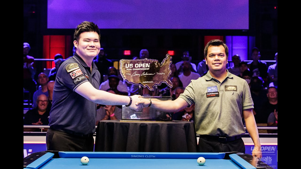 FINAL  Highlights  2021 US Open Pool Championship