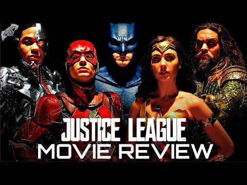 JUSTICE LEAGUE MOVIE REVIEW!