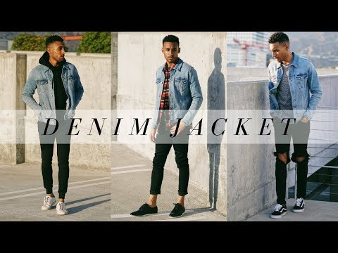 HOW TO STYLE A DENIM JACKET   LOOKBOOK   OUTFIT IDEAS