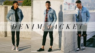 HOW TO STYLE A DENIM JACKET | LOOKBOOK | OUTFIT IDEAS