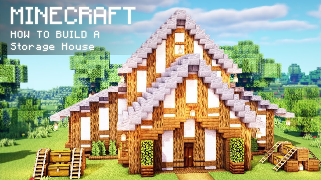 Minecraft: How To Build a Storage House