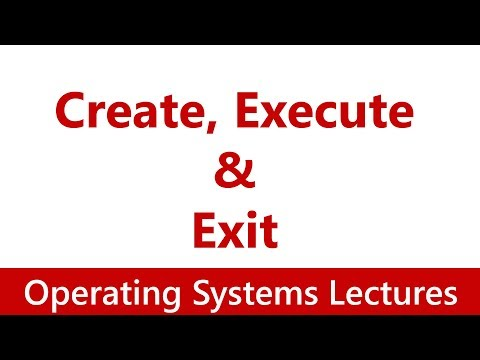 Operating System #12 Create, Execute & Exit from a Process   frok() System Call