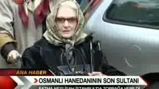 TRT1 Neslişah Sultan Cenaze