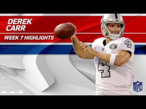 Derek Carr's Huge Game w/ 417 Yards & 3 TDs vs. KC! | Chiefs vs. Raiders | Wk 7 Player Highlights