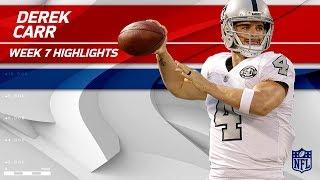 Derek Carr's Huge Game w/ 417 Yards & 3 TDs vs. KC! | Chiefs vs. Raiders | Wk 7 Player Highlights