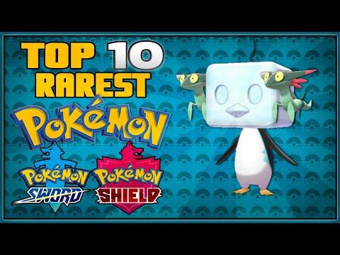 Top 10 Rarest Pokémon for Pokémon Sword and Shield