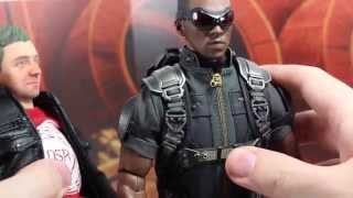 Captain America The Winter Soldier Falcon Punch! Hot Toys Falcon Parody!