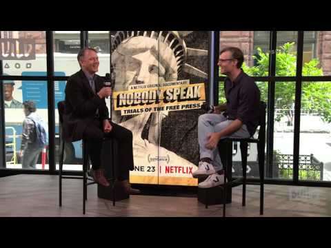 "Brian Knappenberger On The Film, ""Nobody Speak: Trials Of The Free Press"""
