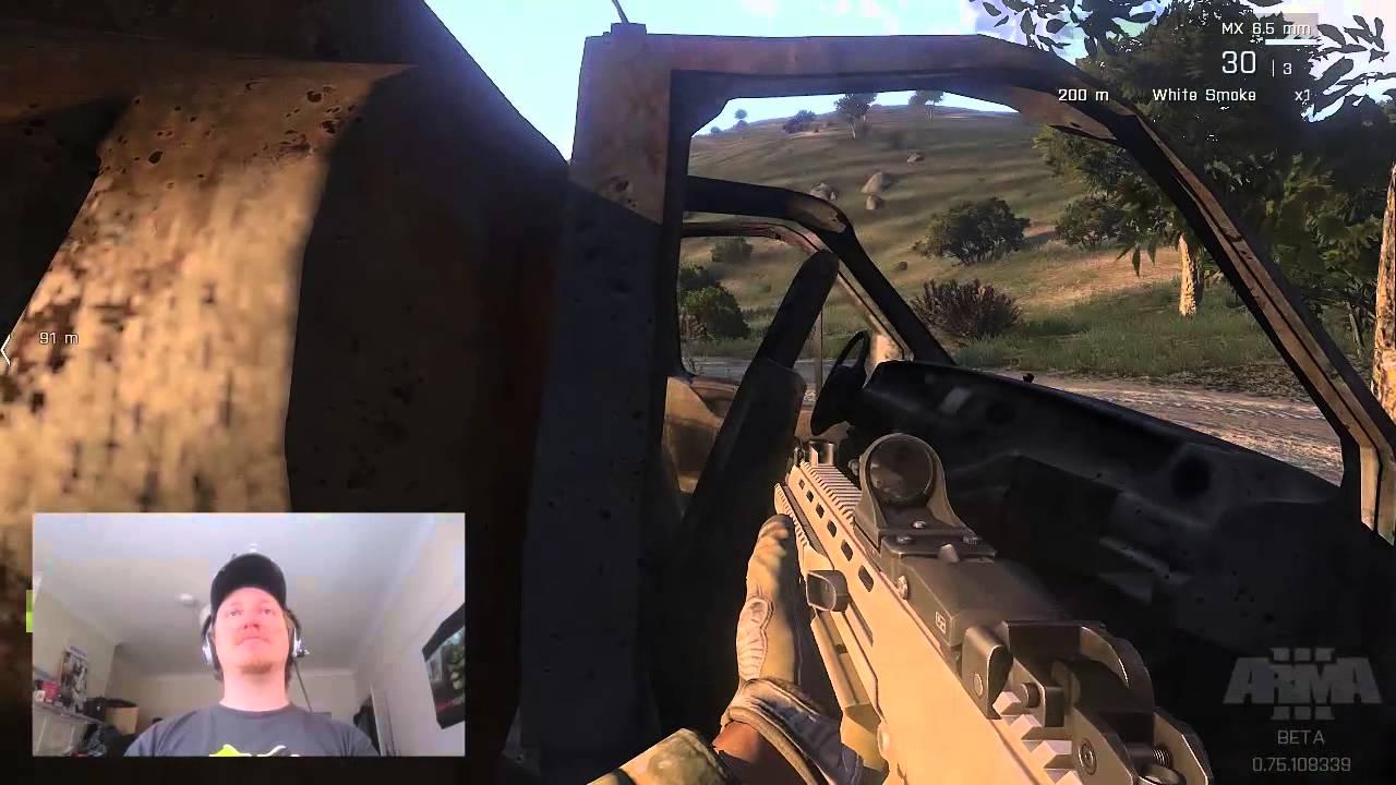 ARMA III - DIY Track IR - YouTube