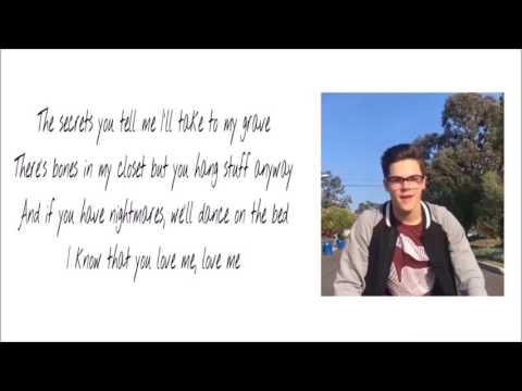 """Guillotine"" Cover By AJ Mitchell (Lyrics)"