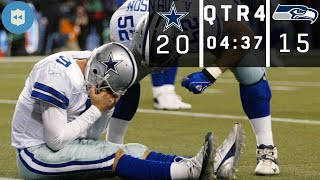 Tony Romo's Botched Snap CRAZY ENDING! (Cowboys vs. Seahawks, 2006 NFC Wild Card) | NFL Vault