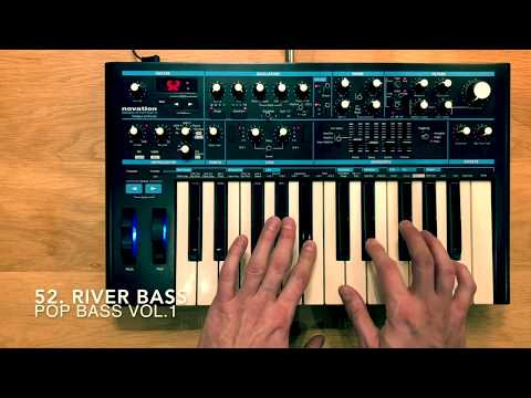 POP BASS VOL.1 MIX - 60 Patches - Novation Bass Station 2 By Dr.BIGOS