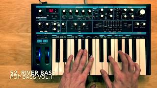 POP BASS VOL.1 - 60 Patches - Novation Bass Station II by Dr.BIGOS