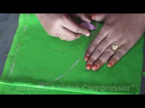 Blouse Cutting In Tamil