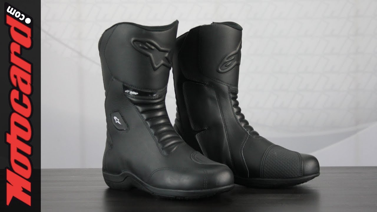 Review: Alpinestars Andes V2 Drystar boots · Motocard