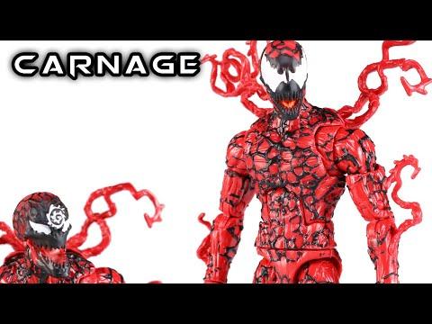 Marvel Legends CARNAGE Venompool BAF Wave Action Figure Review