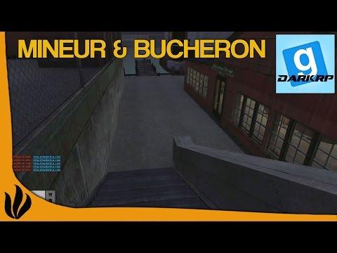 [FR] DarkRP (Garry's Mod) - Mineur & Bucheron