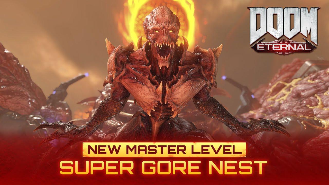 Doom Eternal New Master Level Super Gore Nest Available Now Youtube