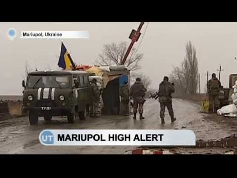 Mariupol on Russian Terror Alert: Ukrainian port city closes checkpoint over terrorism fears
