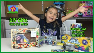 DIY Father's Day Gift Ideas that Kids can Make! Gifts for Dad