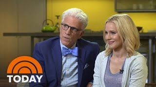Kristen Bell, Ted Danson On 'The Good Place,' 'Cheers,' Bell's Depression Battle | TODAY