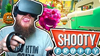 Fighting FRUIT In VIRTUAL REALITY! Job Simulator Style Shooter | Shooty Fruity | VR Gameplay