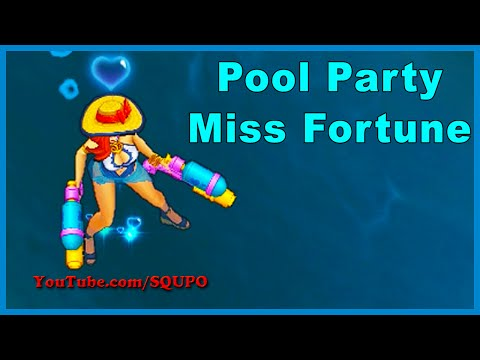 Pool Party Miss Fortune - Skin Spotlight (League of Legends)