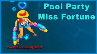 Pool Party Miss Fortune - New Skin (League of Legends)