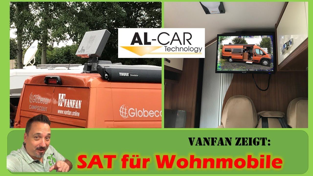#10 SAT und TV für Wohnmobile  automatische SAT Anlage  Fernsehen im  Wohnmobil  Al-Car