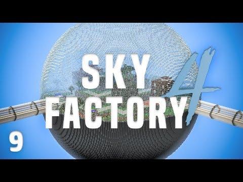 SkyFactory 4 Ep. 9 Best Backpack + Lost Cities Dimension