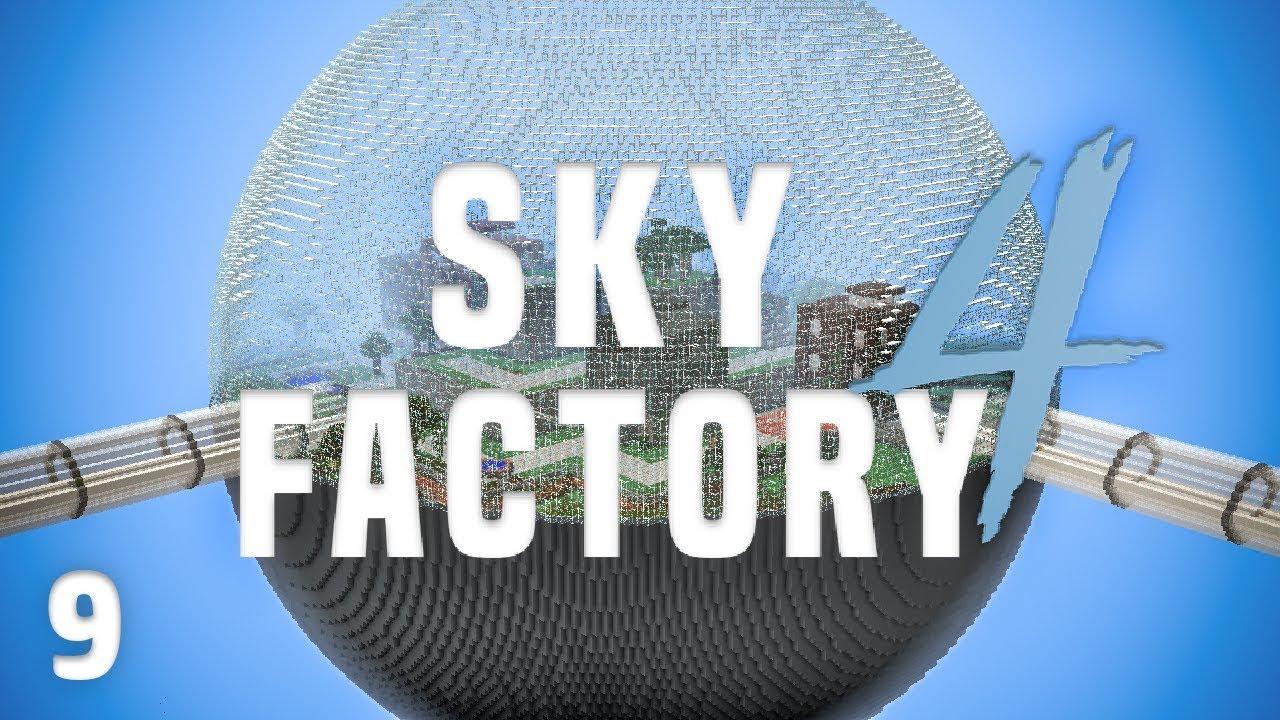 SkyFactory 4 Ep  9 Best Backpack + Lost Cities Dimension