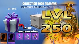 Fortnite Collection Book All Rewards Level 235 to 250 Legendary Llama