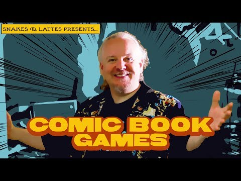 Comic Book Games