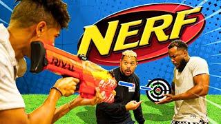 INSANE 2HYPE NERF Trick Shots Battle!