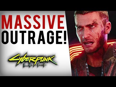 Journalists SLAM Cyberpunk 2077, Outrage Over White Male Character & Stereotypes/Representation