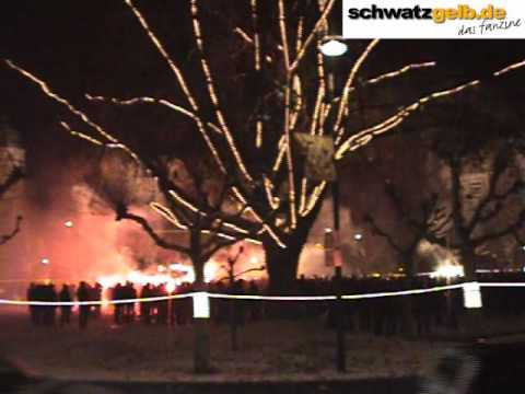 Borsigplatz Dortmund - BVB - Geburtstagsfeier - 19.12.2009, 0:00 Uhr - Video
