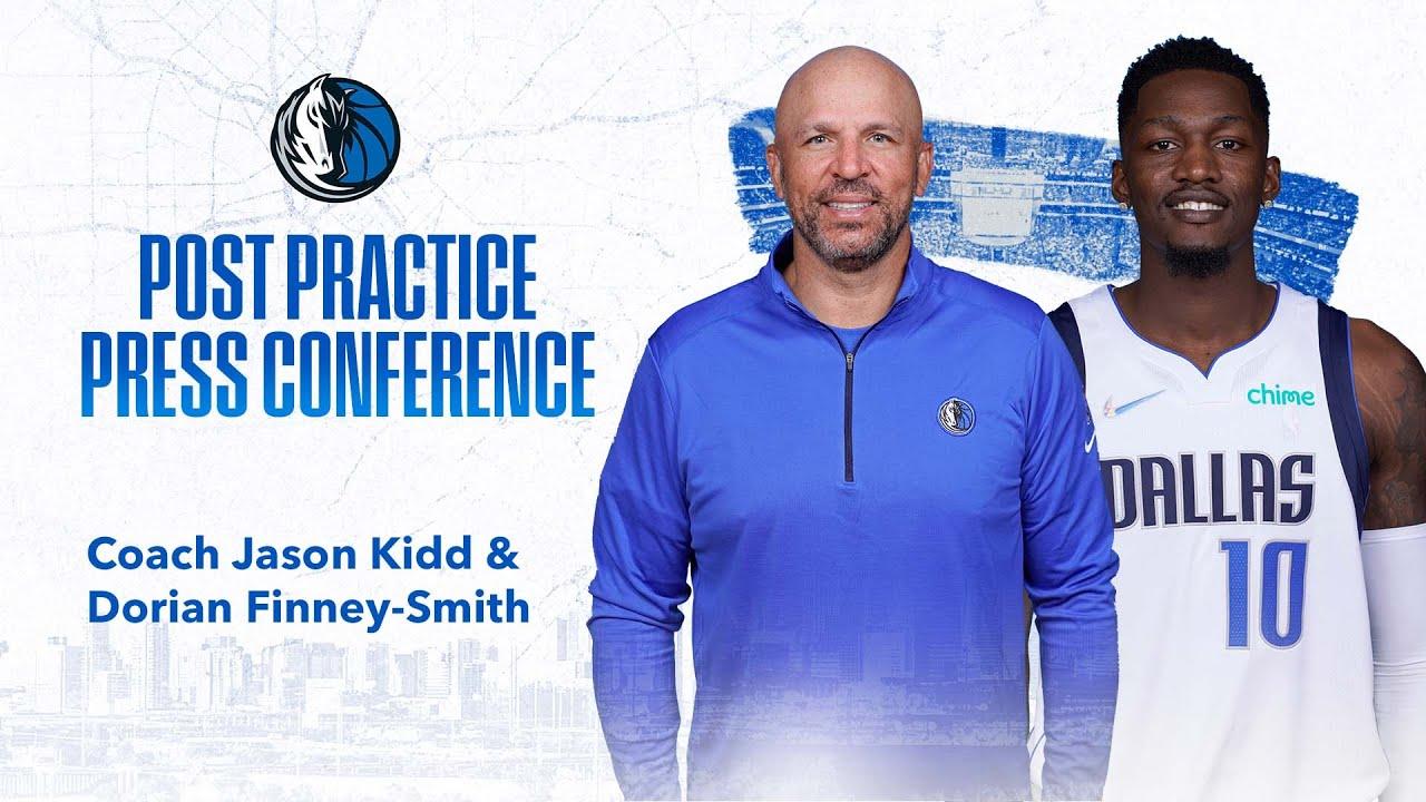 Mavs Practice Report: Jason Kidd & Dorian Finney-Smith (10/25/2021)