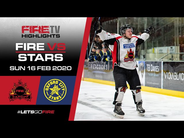 Cardiff Fire v Oxford City Stars 16/02/20