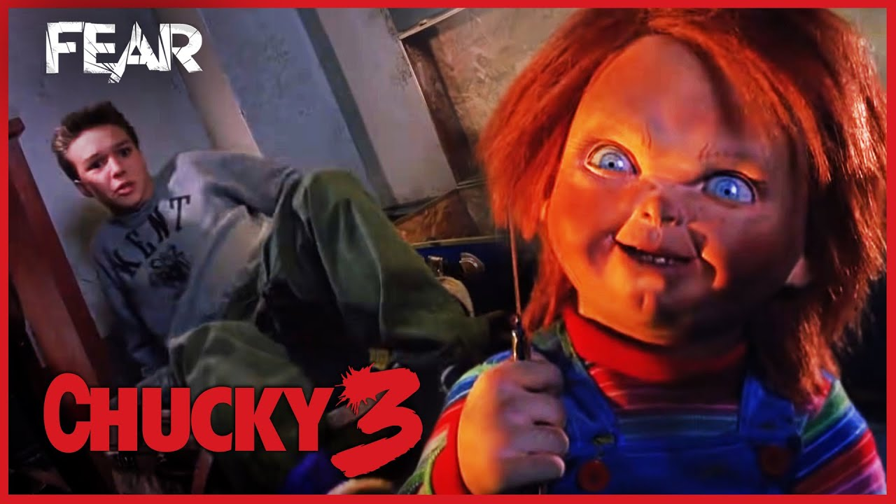 Chucky Surprises Andy Child S Play 3 Youtube